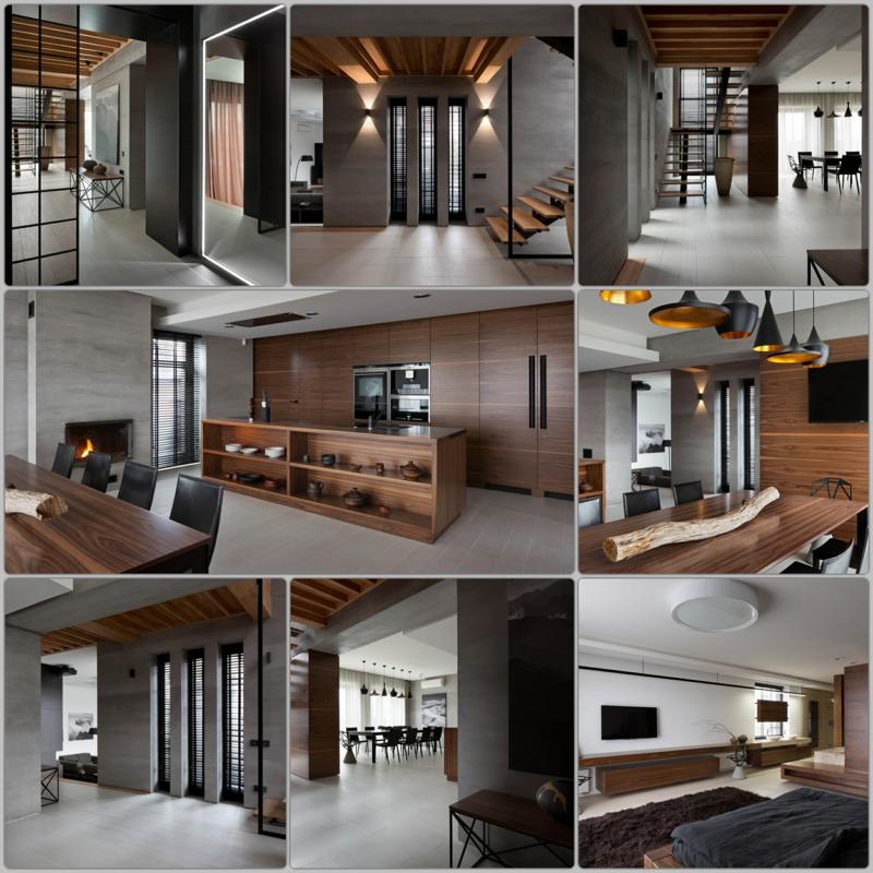 Shore House NOTT Design Studio Wohnungsgestaltung Beispile