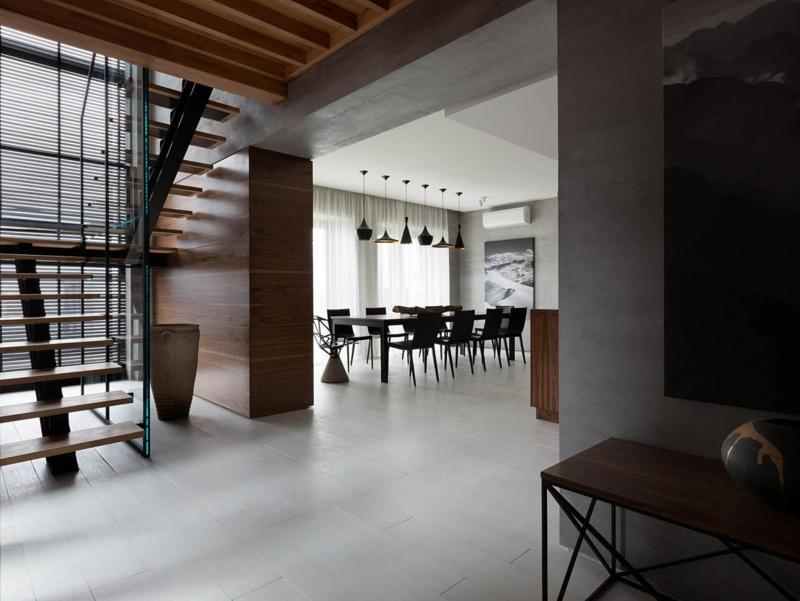 Shore House NOTT Design Studio Wohnungsgestaltung Esszimmer Raumgestaltung