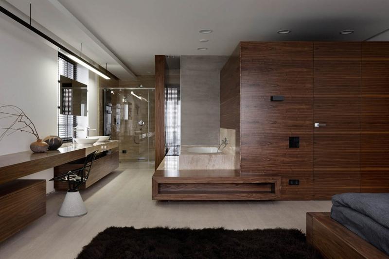 Shore House NOTT Design Studio Wohnungsgestaltung Schlafzimmer Kleiderschrank