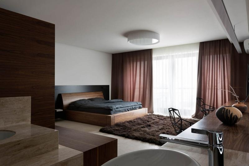 Shore House NOTT Design Studio Wohnungsgestaltung Schlafzimmer einrichten