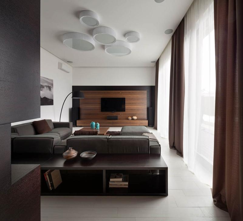 Shore House NOTT Design Studio Wohnungsgestaltung Wohnzimmer einrichten