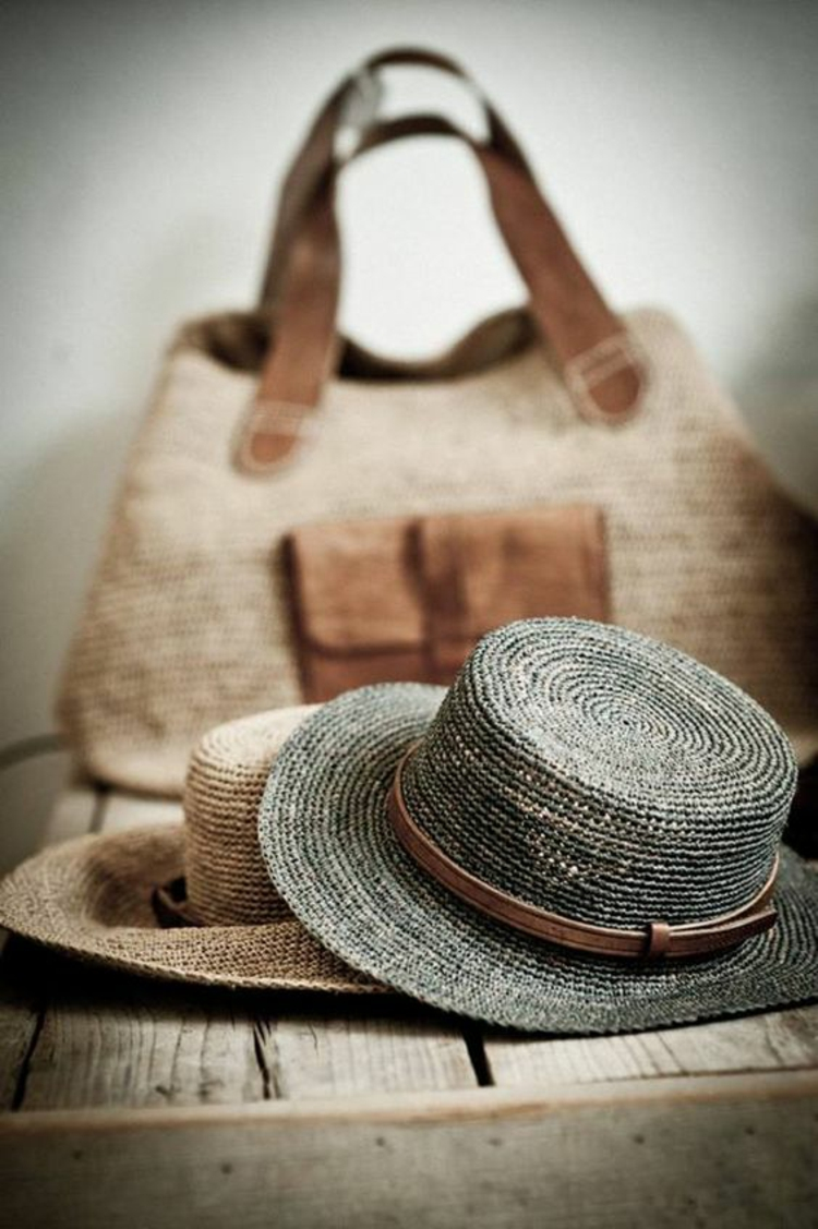 Tasche und Hut Damen Damenmode und Stylingstipps