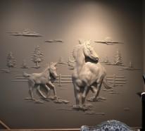3D Wanddeko Ideen von Bernie Mitchell – Wandskulpturen zum Bewundern