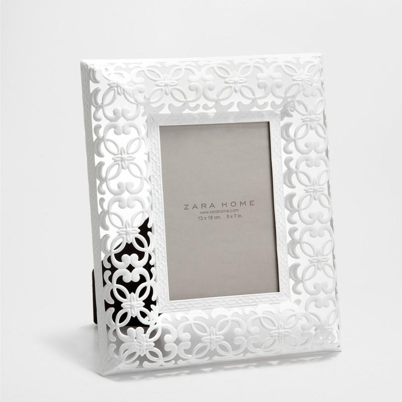 Valentinstag Geschenkideen für sie Zara Home Deutschland Metallrahmen