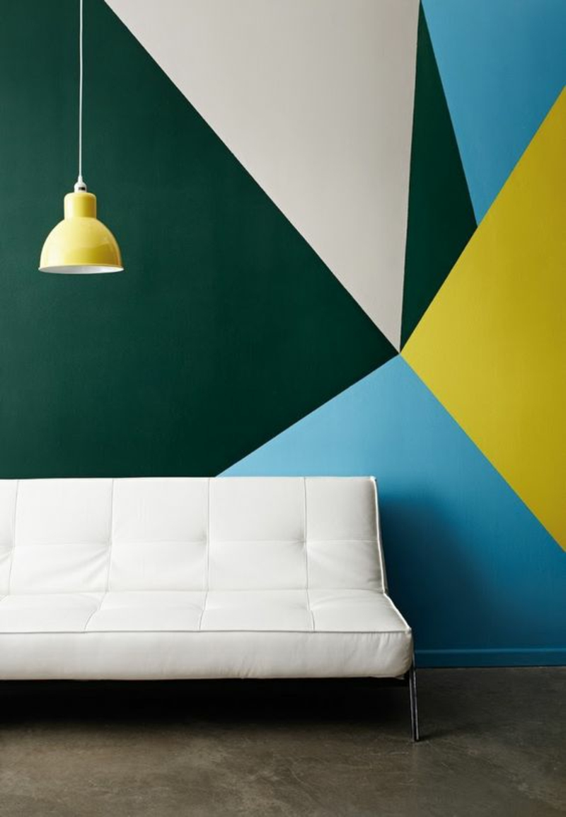 Wandfarben Ideen Wände streichen Farbideen Wandfarben kombinieren