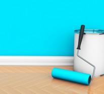 Wandfarben Ideen für innen und außen – 45 Farbideen