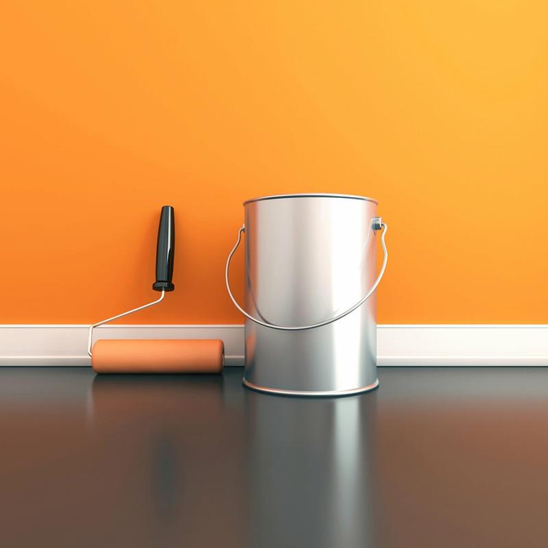 Wandfarben Ideen Orange Wände streichen Farbideen