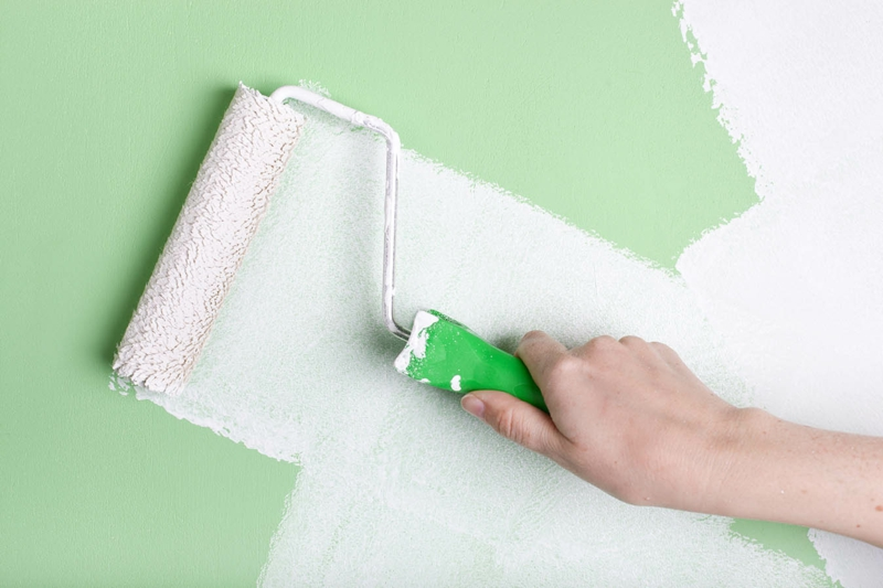 Wandfarben Ideen Wände streichen Farbideen Wandfarbe grün