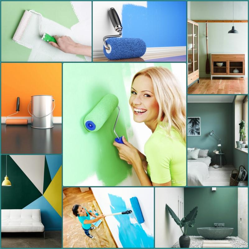 Wandfarben Ideen Wände streichen Farbideen Wandgestaltung
