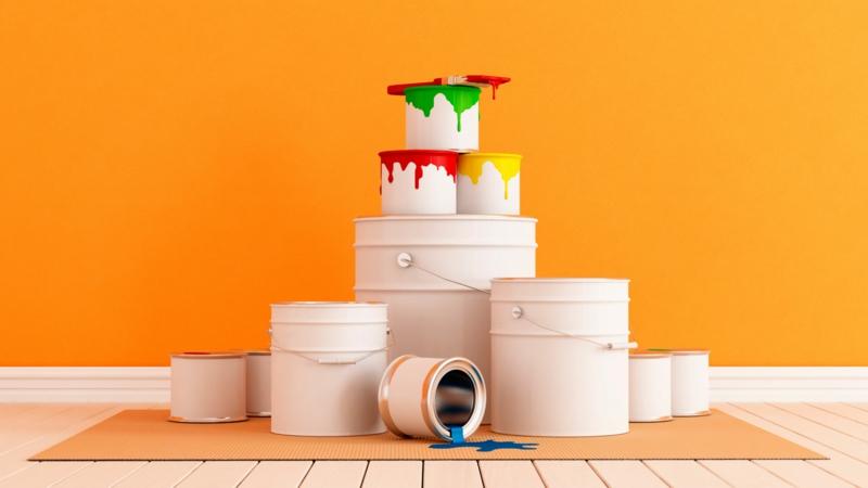 Wandfarben Ideen Wände streichen Farbideen grelles Gelb