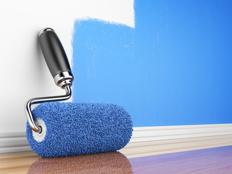 Wandfarben Ideen Wände streichen Farbideen in Blau