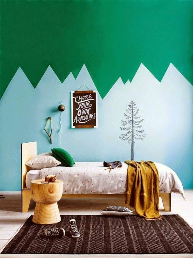 Wandfarben Ideen Wände streichen Farbideen