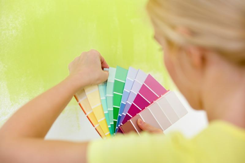 Wandfarben Ideen Wandfarbe auswählen Wände gestalten