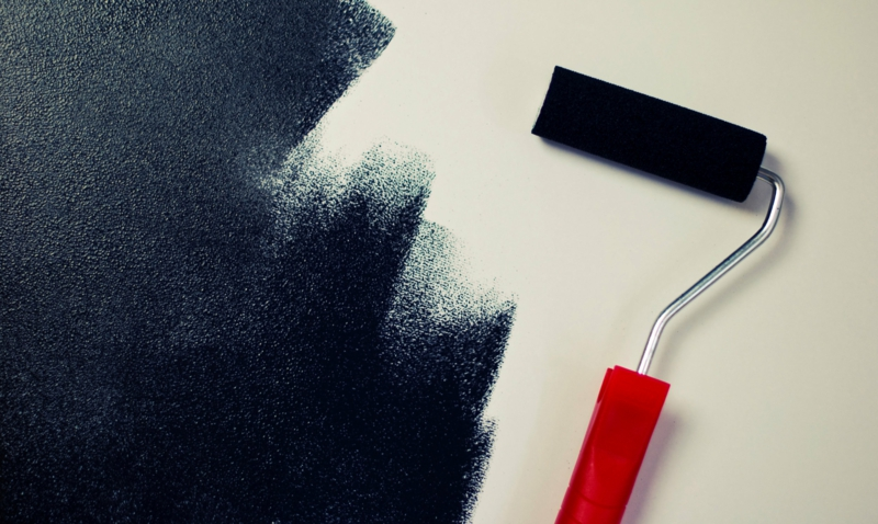 Wandfarben Ideen dunkle Wände streichen Farbideen