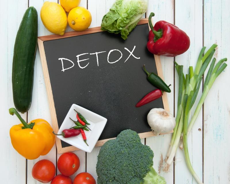 Was ist Detox Kur zu Hause Entgiftungskur