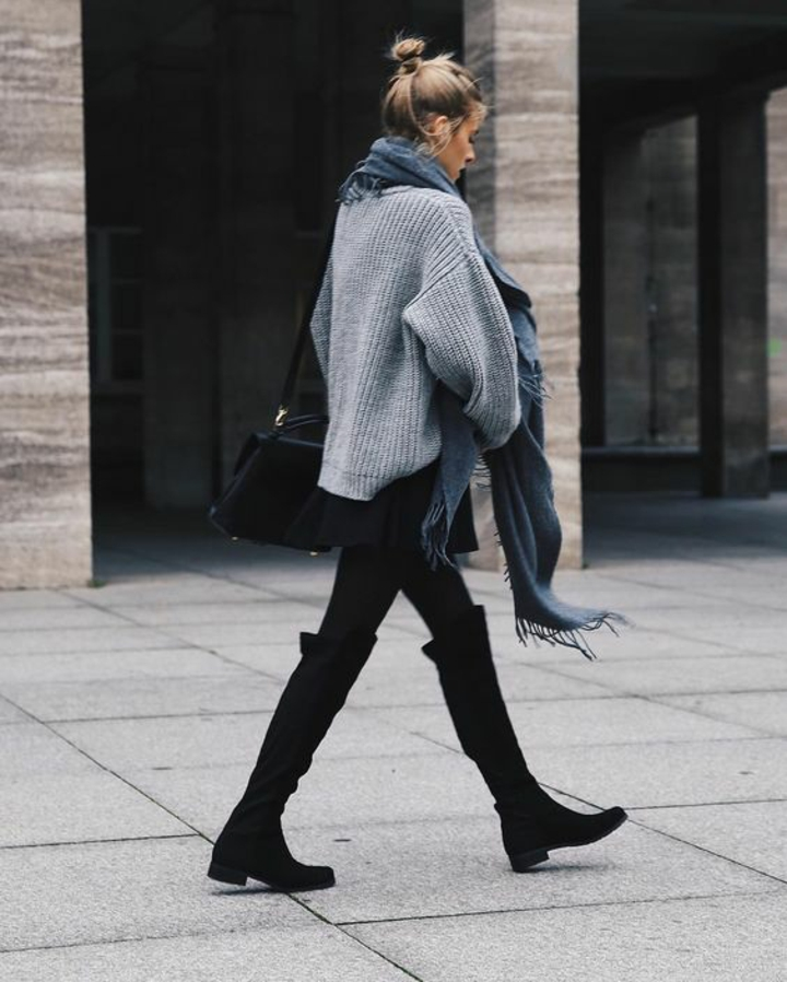 aktuelle Modetrends 2016 Damenpullover Longpullover Damen