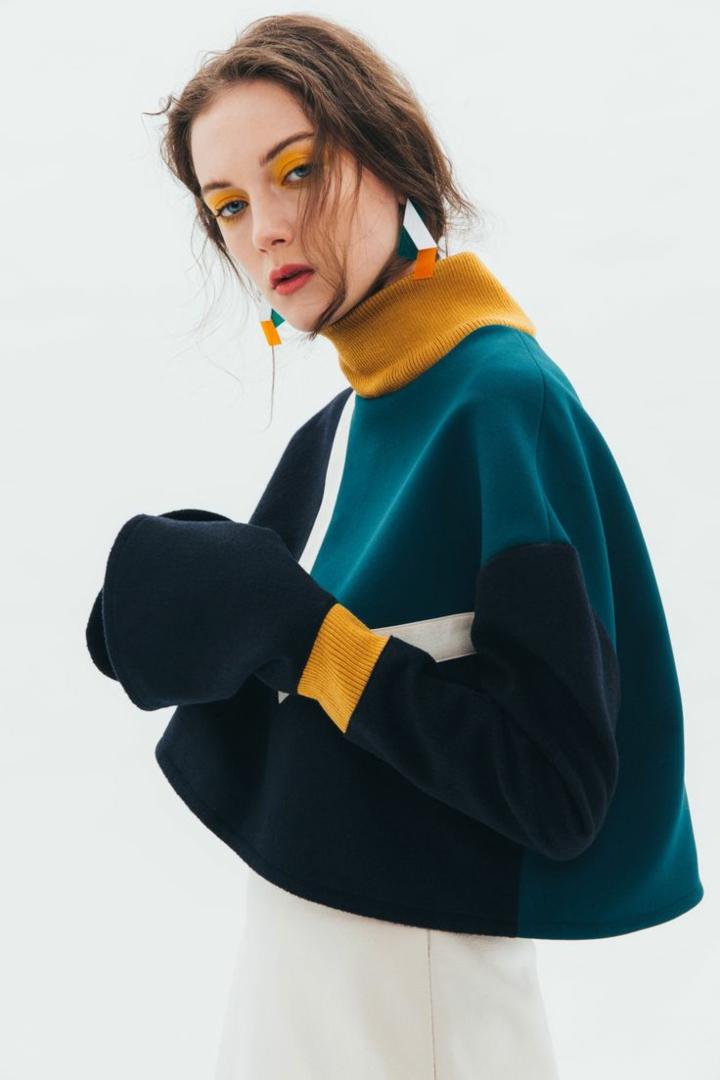 aktuelle Modetrends 2016 Strickmode Farben Damenpullover