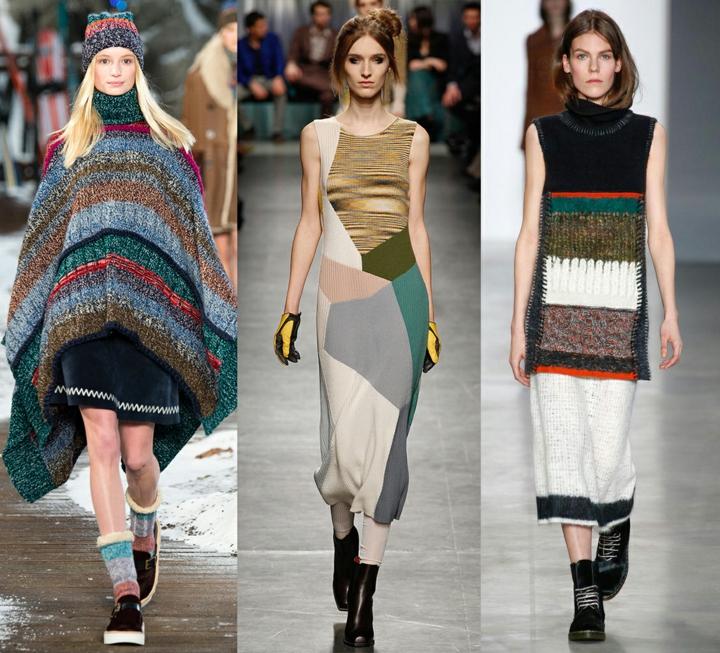 aktuelle Strickmode Damenpullover oversize Mode
