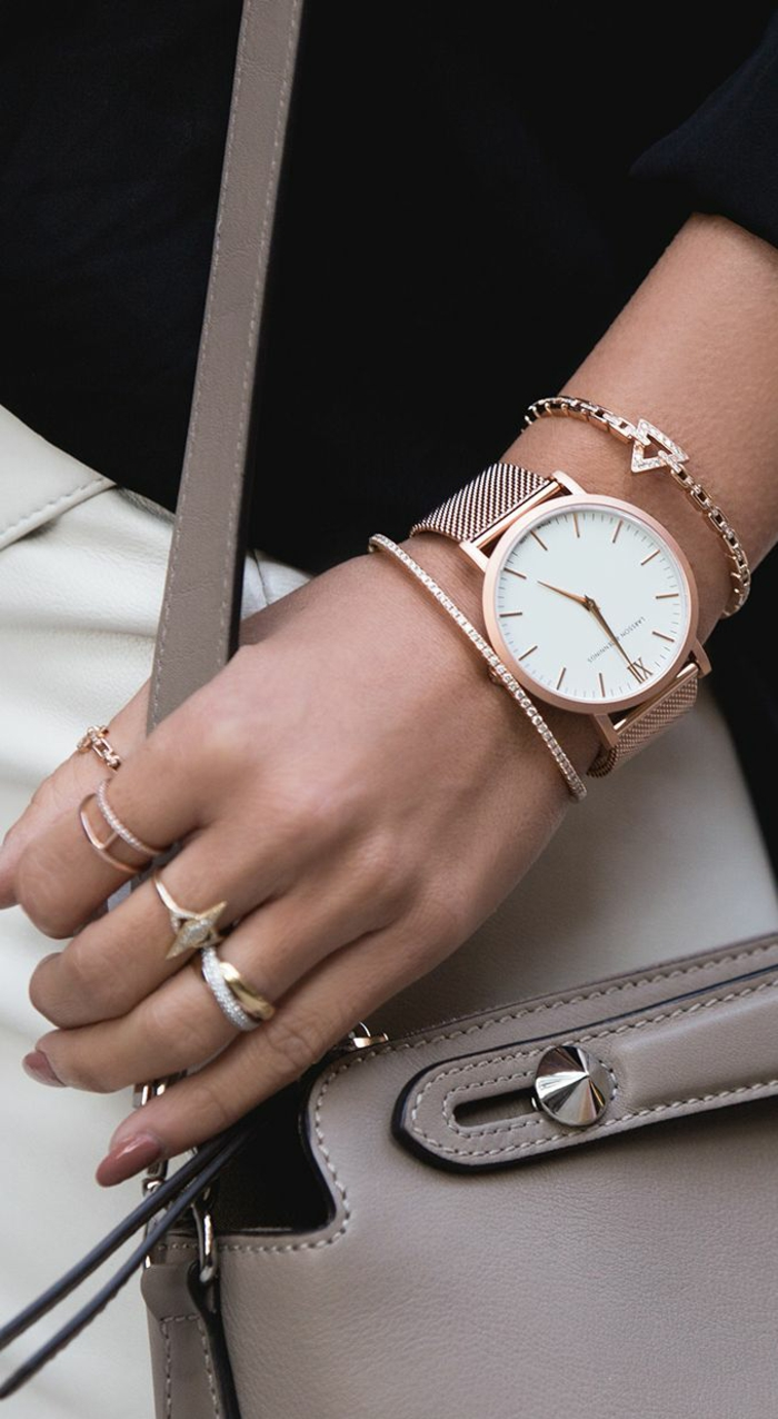aktuelle modetrends frauen armbänder ringe