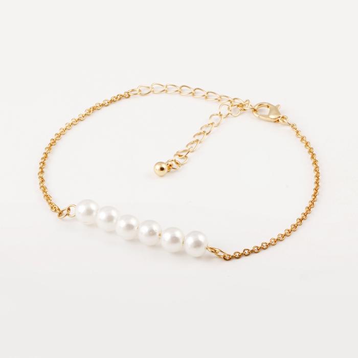 aktuelle modetrends frauen schmuck armband perlen