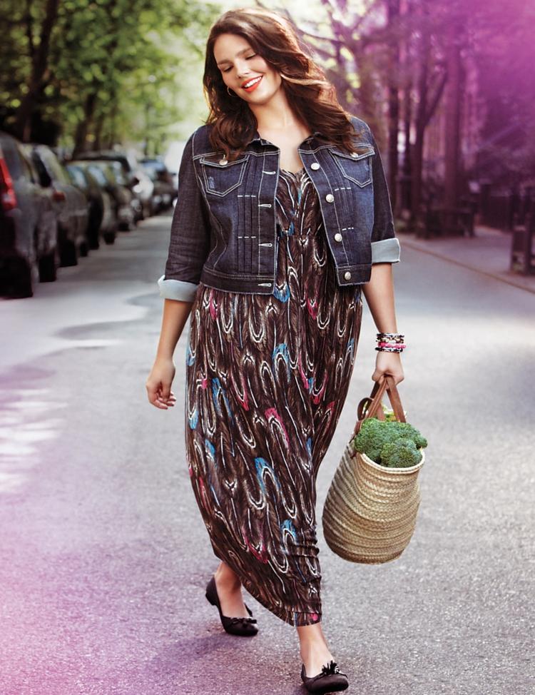 innovative design 0f410 ac157 Kleider in großen Größen: elegante Mode für kurvige Damen