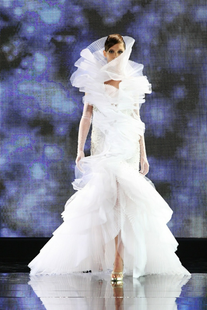 ausgefallene brautkleider haute couture designer kleider hochzeitskleid