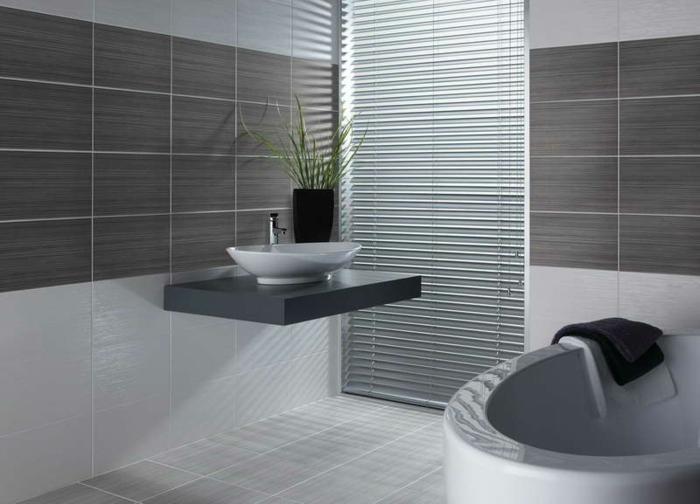 badefliesen elegantes badezimmer waschbecken waschtisch