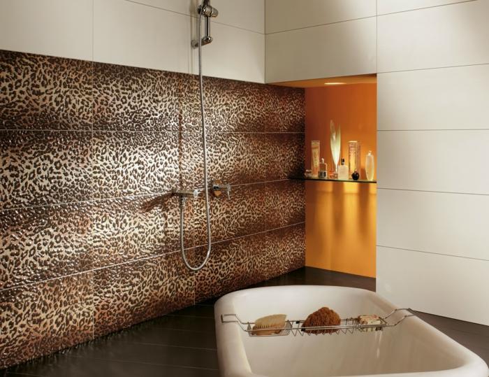 badefliesen keramische badfliesen fliesenmuster freistehende badewanne