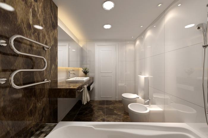 badefliesen schickes badezimmer luxuriöse wandfliesen kleines bad