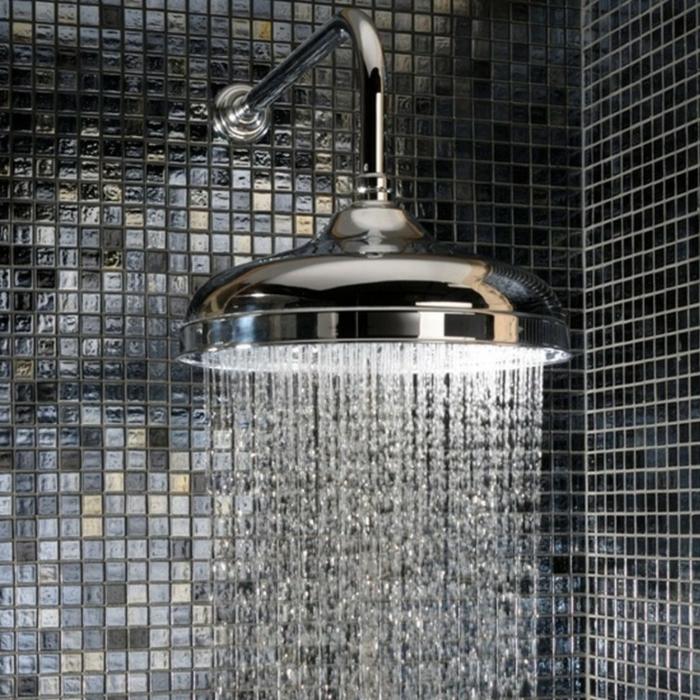 badezimmerfliesen mosaikfliesen dusche bad ideen