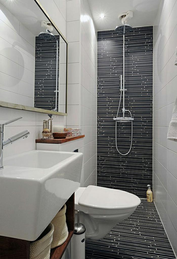 badezimmerfliesen stilvoll wandgestaltung akzentwand dusche