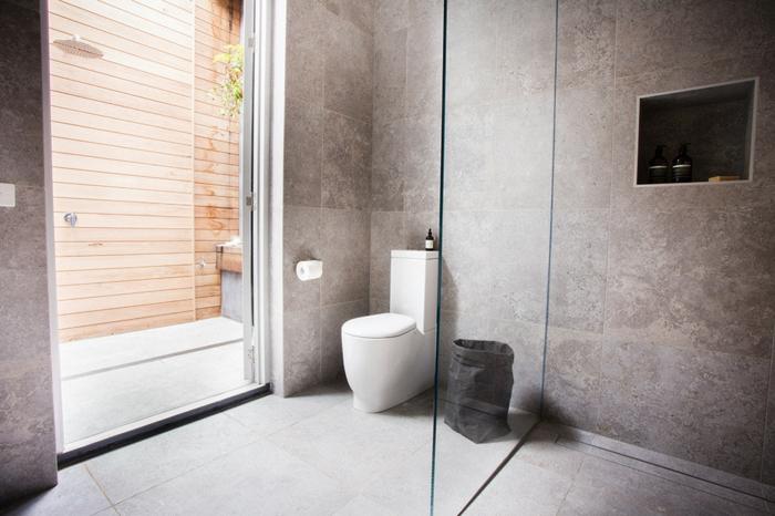 badfliesen ideen wandgestaltung bodenbelag badideen - Wie Bad Fliesen