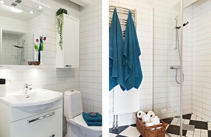 badfliesen und badideen 70 coole ideen welche in kleinen r umlichkeiten super gut. Black Bedroom Furniture Sets. Home Design Ideas
