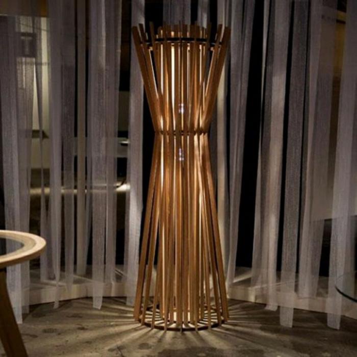 dekoideen deko deko aus bambus designerlampen