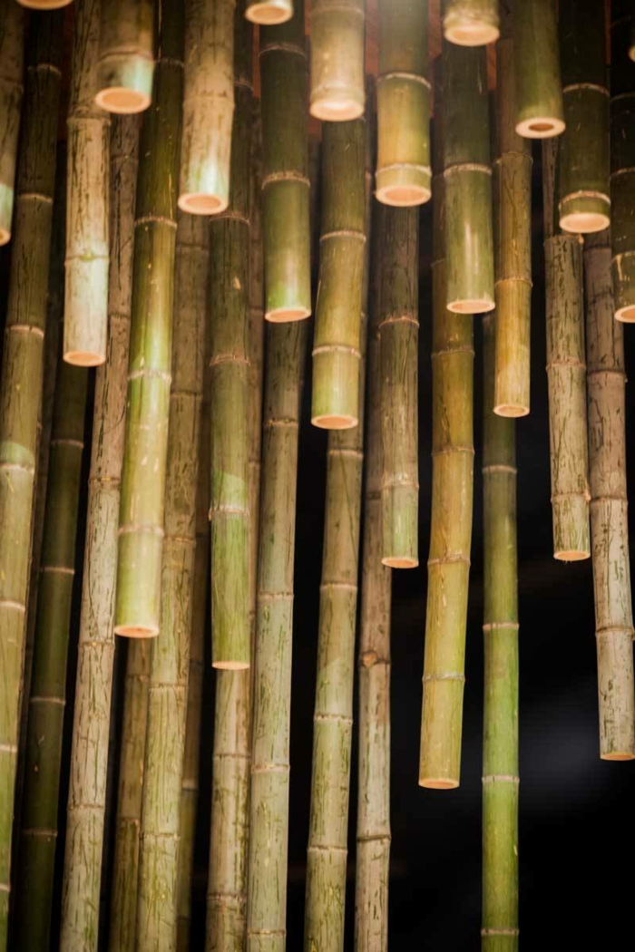 88 bambus deko ideen f r ein fern stliches flair zu hause. Black Bedroom Furniture Sets. Home Design Ideas