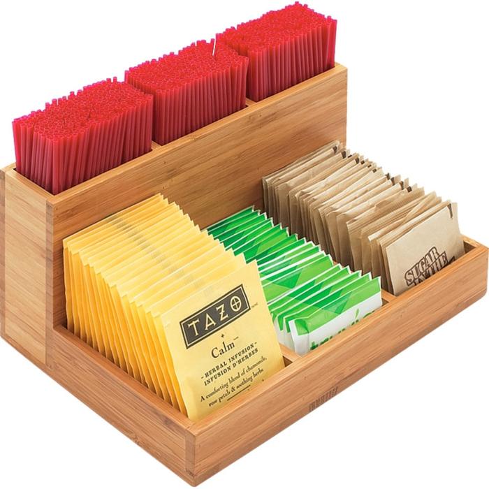 dekoideen deko aus bambus teedose