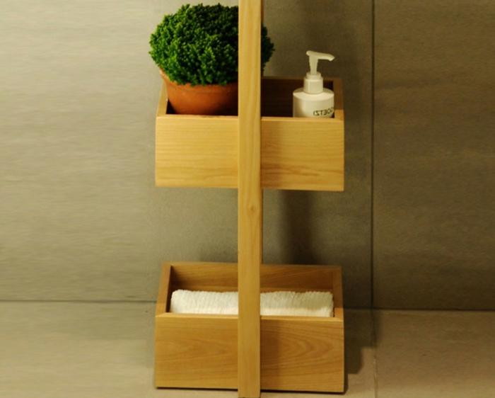 dekoideen deko aus bambus wanddeko bambus regal