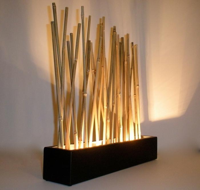 bambusmöbel bambus deko deko aus bambus wanddeko wandlampe stehlampe