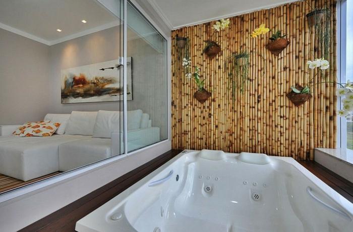 88 bambus deko ideen f r ein fern stliches flair zu hause fresh ideen f r das interieur - Wanddeko bambus ...