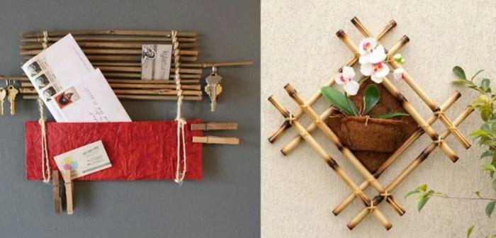 bambusmöbel bambus deko deko aus bambus wanddeko windspiel pinwand
