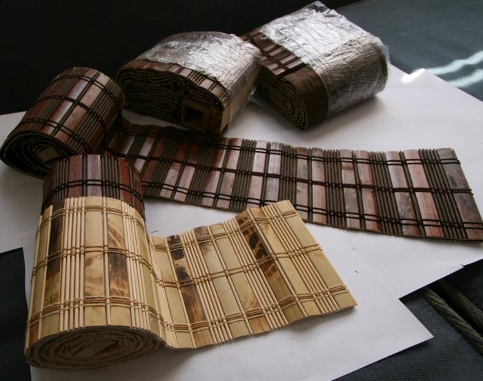 deko ideen deko aus bambus wanddeko windspiel platzdecke