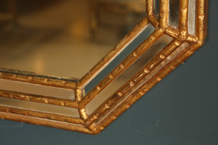 deko ideen deko aus bambus wanddeko windspiel spiegel