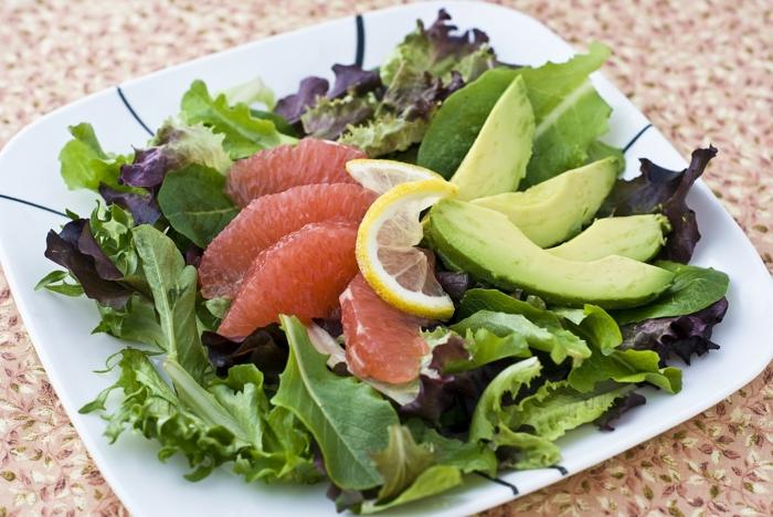 basische ernährung säure basen salat gesund