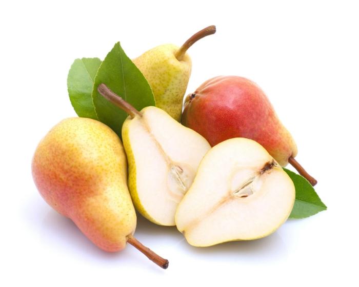 basische ernährung säure basen stockfoto birnen