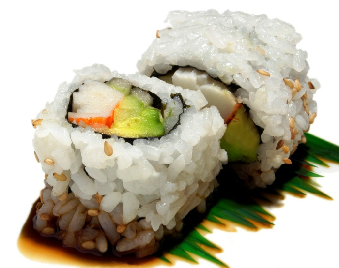 basische ernährung säure basen stockfoto sushi