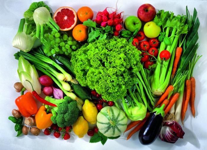 basische ernährung säure basen stockfoto