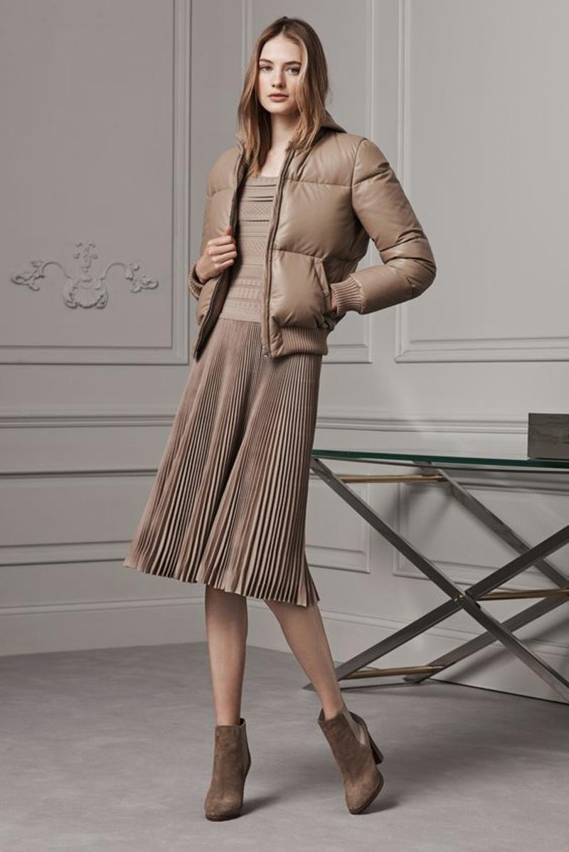 beige Kleider Trendfarben aktuelle Modetrends 2016 Ralph Lauren