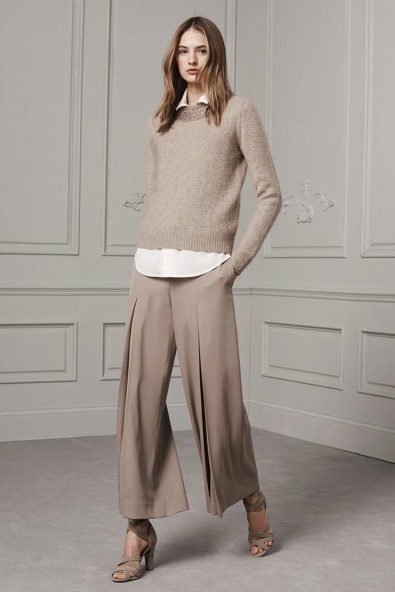 beige Kleider Trendfarben neue Modetrends 2016 Ralph Lauren