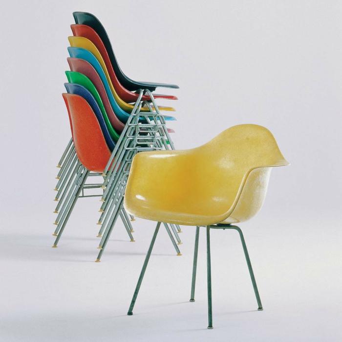 berühmte architekten Charles und Ray Eames stühle