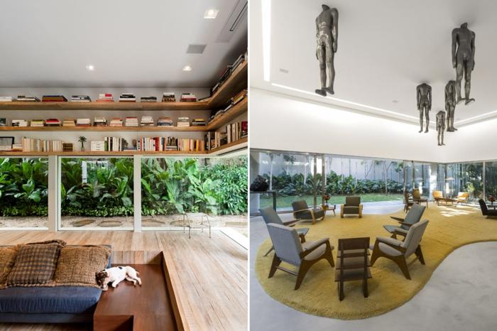 berühmte architekten isay weinfeld lounge haus